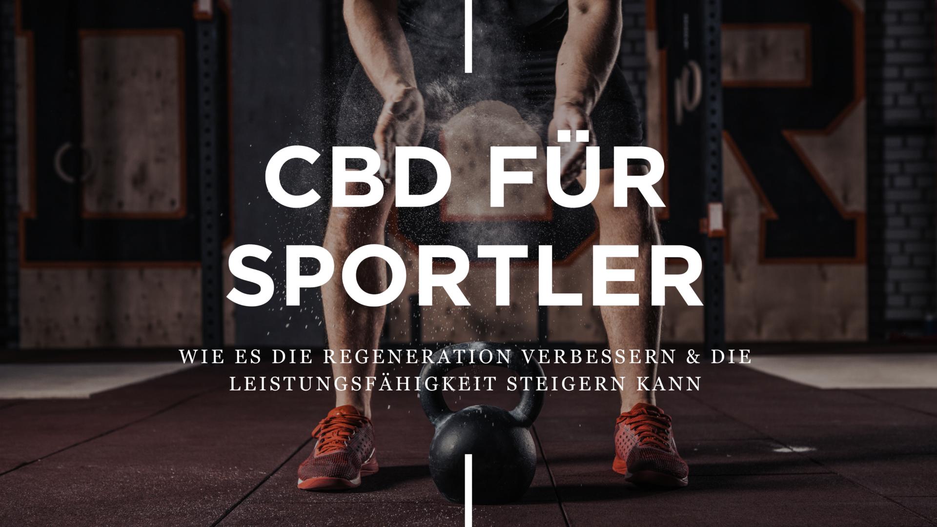 CBD für Sportler