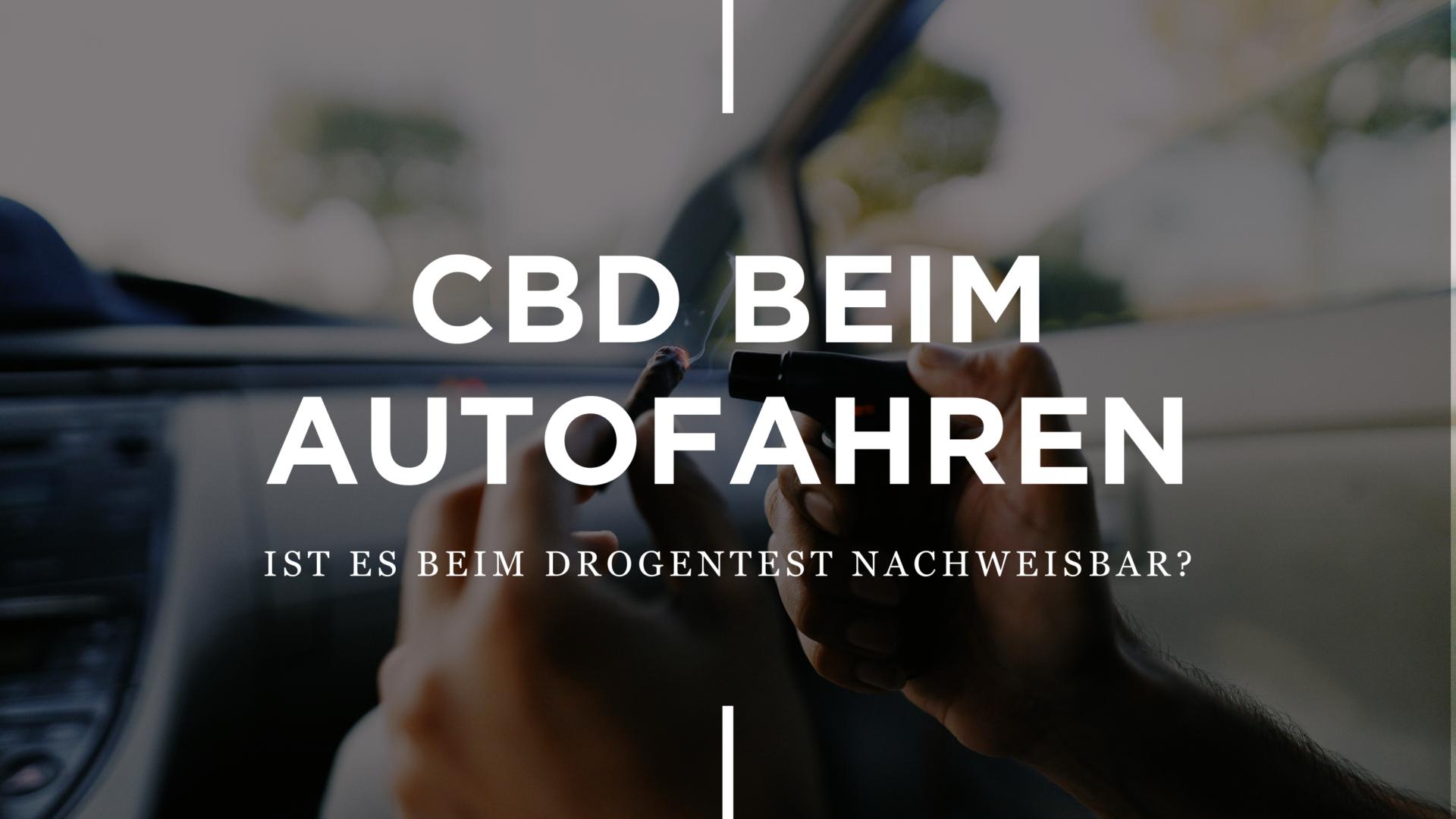 CBD beim Autofahren