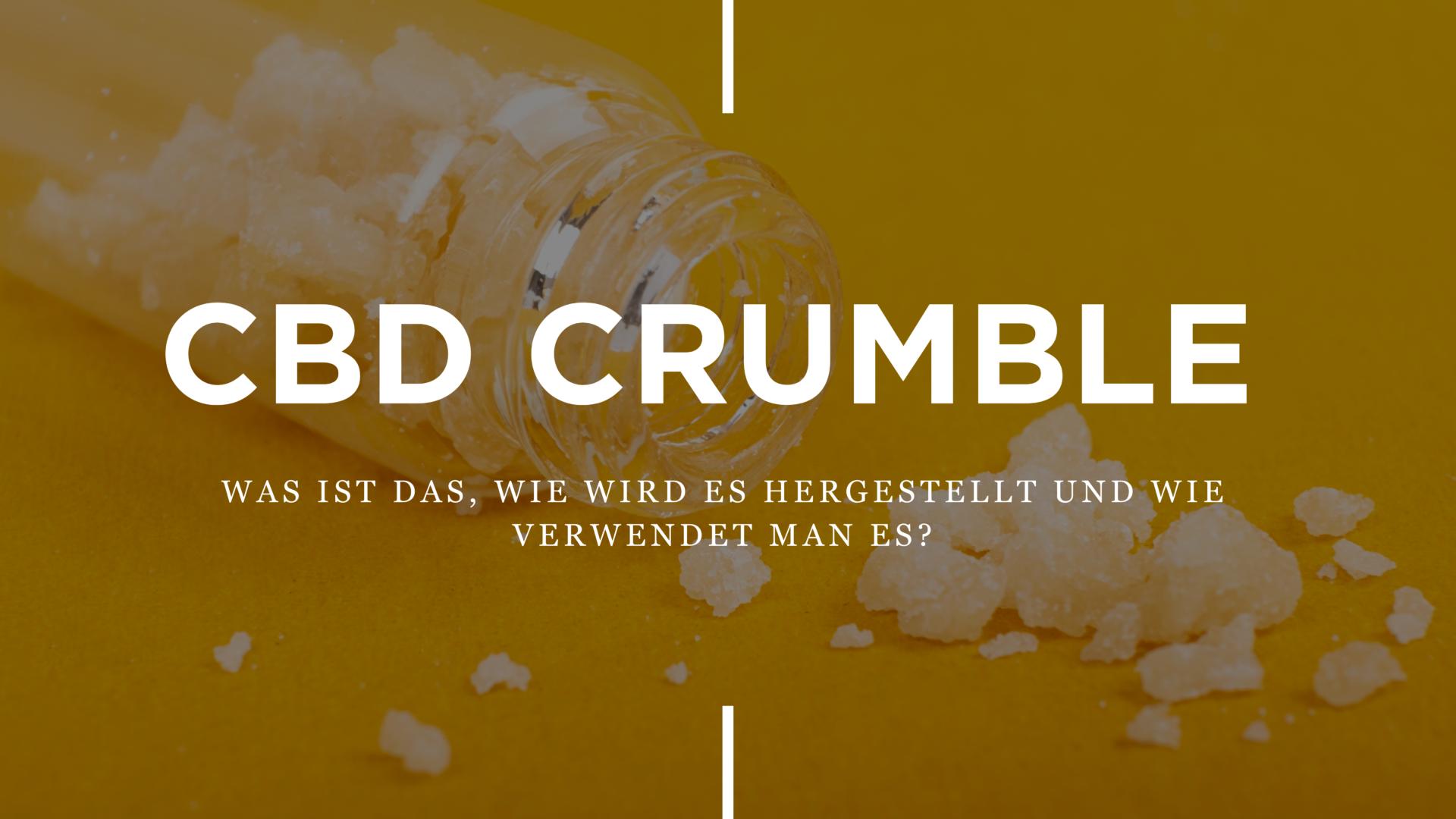 CBD Crumble